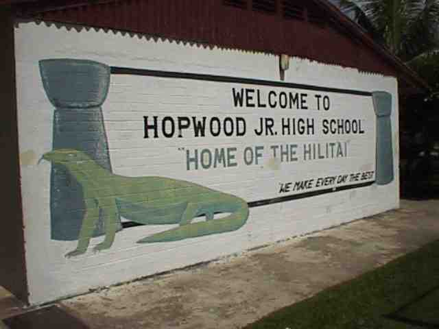 Hopwood Sign